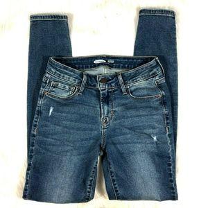 Old Navy Rockstar Super Skinny Jeans Distressed